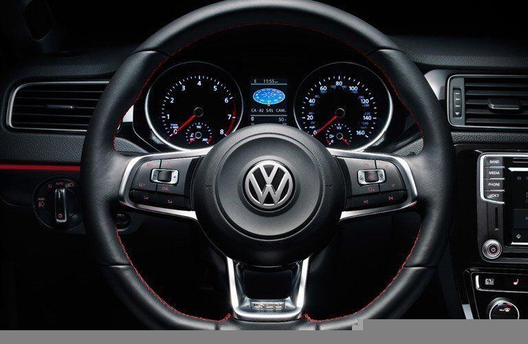 2017 Volkswagen Jetta GLI Steering Wheel