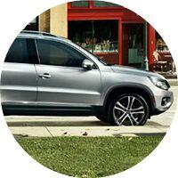 silver 2017 Volkswagen Tiguan exterior front half