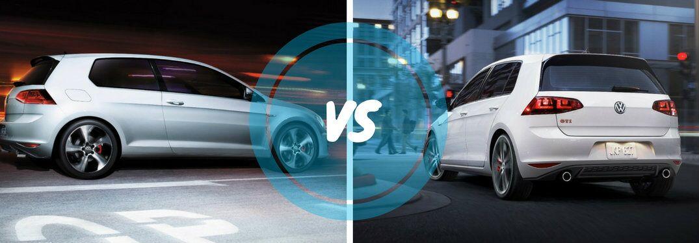 2017 Volkswagen Golf GTI S vs GTI Sport