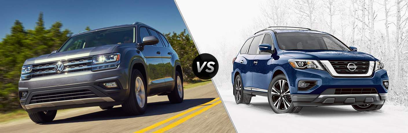 2018 Volkswagen Atlas vs 2017 Nissan Pathfinder
