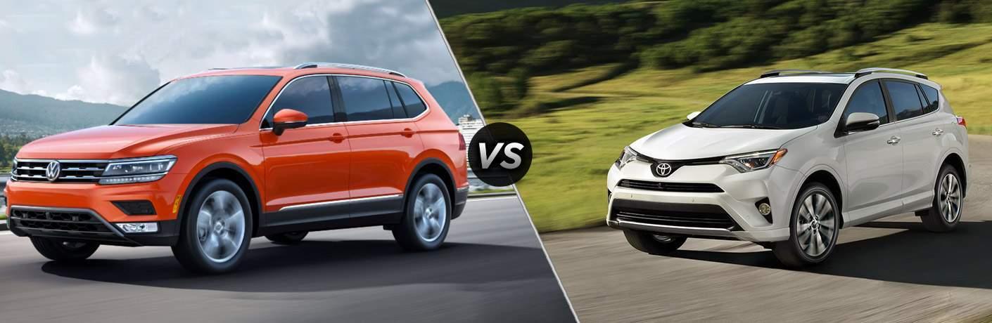 2018 Volkswagen Tiguan vs 2017 Toyota RAV4