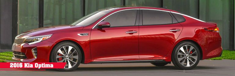 2016 Kia Optima midsize sedan Cape Coral FL
