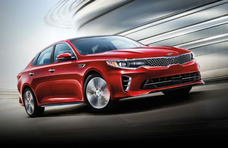 Kia Optima sedan Airport Kia of Naples FL