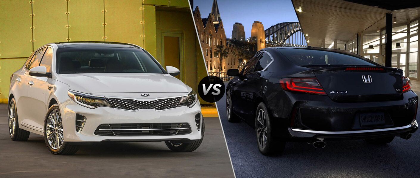 2016 Kia Optima vs. 2016 Honda Accord performance HarmanKardon audio system
