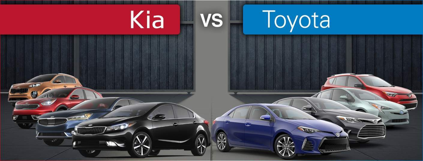 Kia models vs. Toyota models price, features and MPG