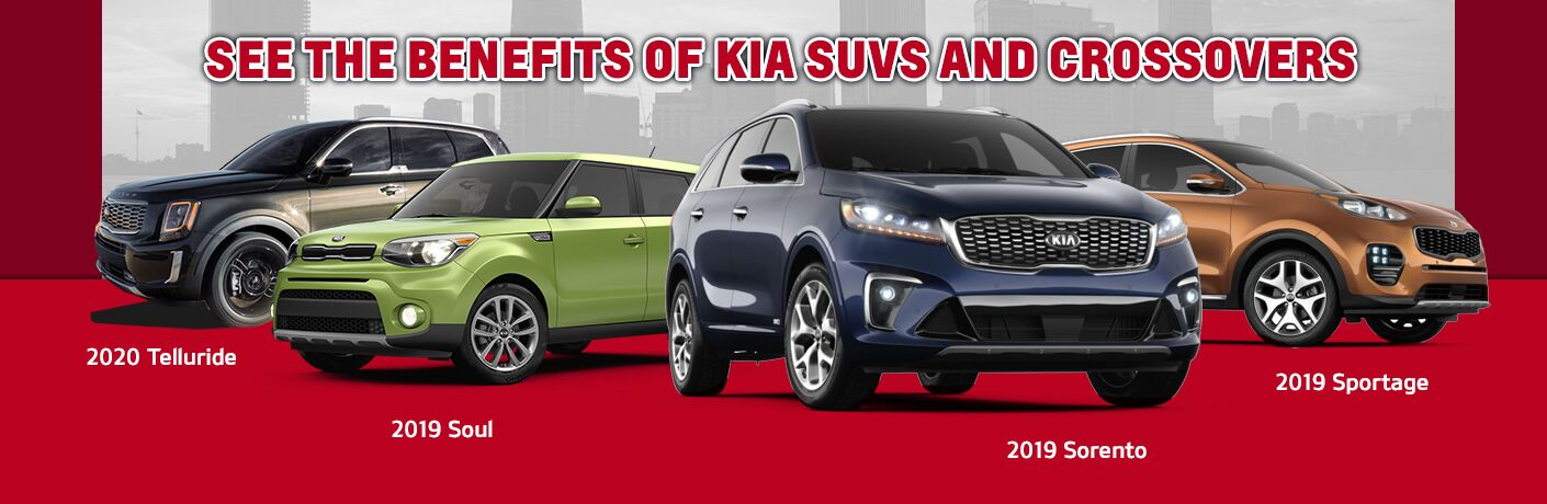 2019 Kia Sorento Sportage and Soul Plus 2020 Kia Telluride
