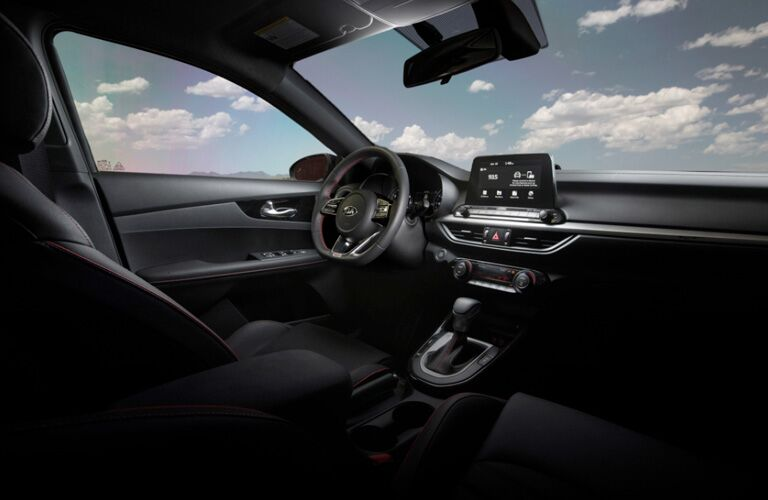 2020 Kia Forte Interior Cabin Dashboard & Front Seating