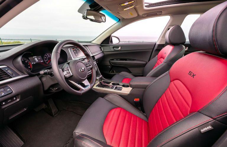 2020 Kia Optima Interior Cabin Dashboard & Front Seating