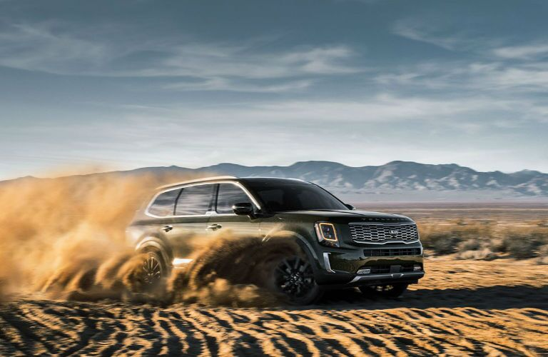 2020 Kia Telluride off-road