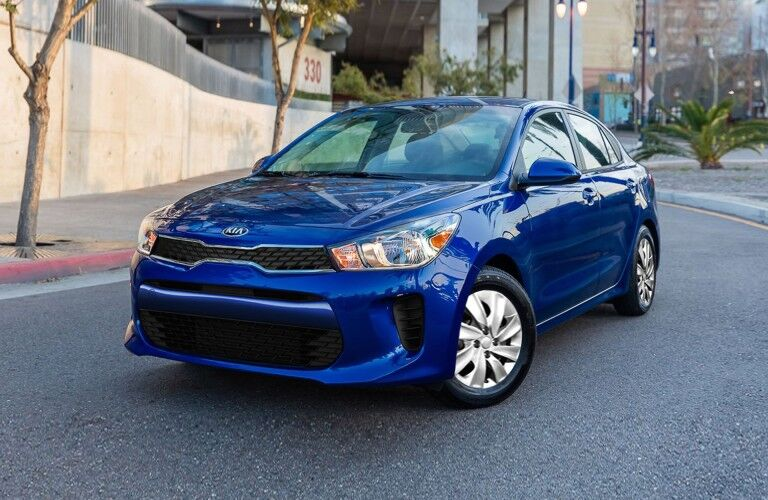 2020 Kia Rio front driver side parked