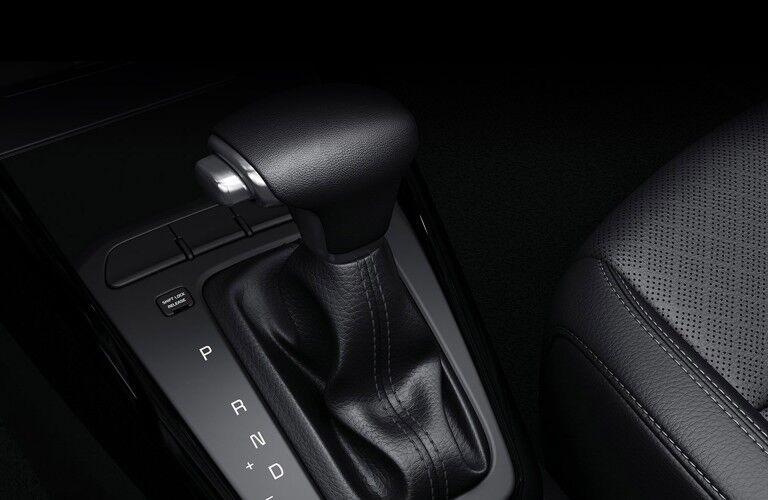 2020 Kia Rio interior gear shift stick