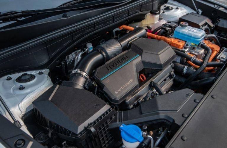Image showing the hybrid powertrain of the 2022 Kia Sorento Plug-In Hybrid