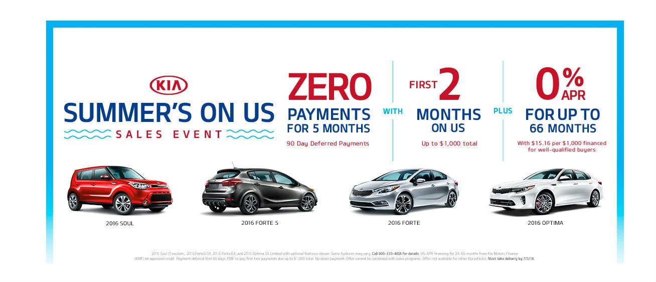 Kia Summer's on Us Sale Naples FL
