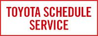 Schedule Toyota Service in McGee Toyota