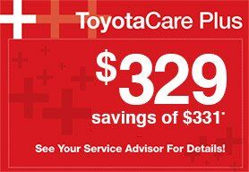 Contact McGee Toyota For ToyotaCare Plus.