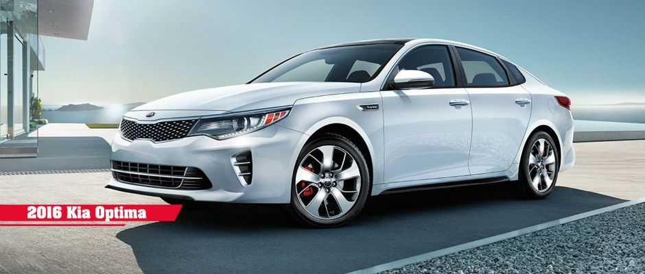 2016 Kia Optima midsize sedan Patterson Kia Wichita Falls TX