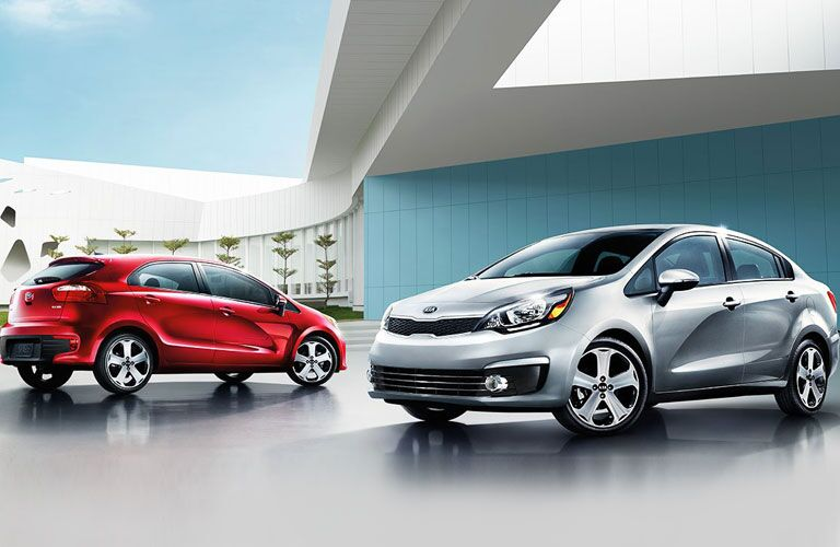 Kia Rio family 2016 models Kia Rio and Rio 5-Door