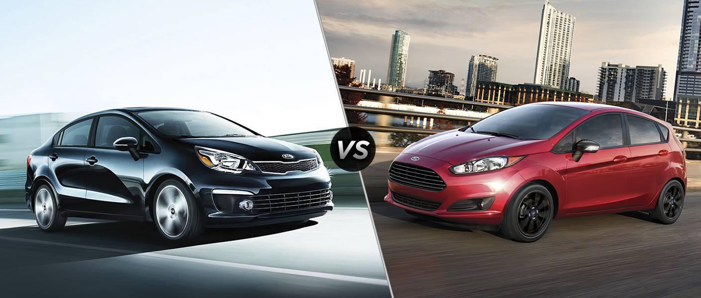 2016 Kia Rio vs 2016 Ford Fiesta Wichita Falls TX