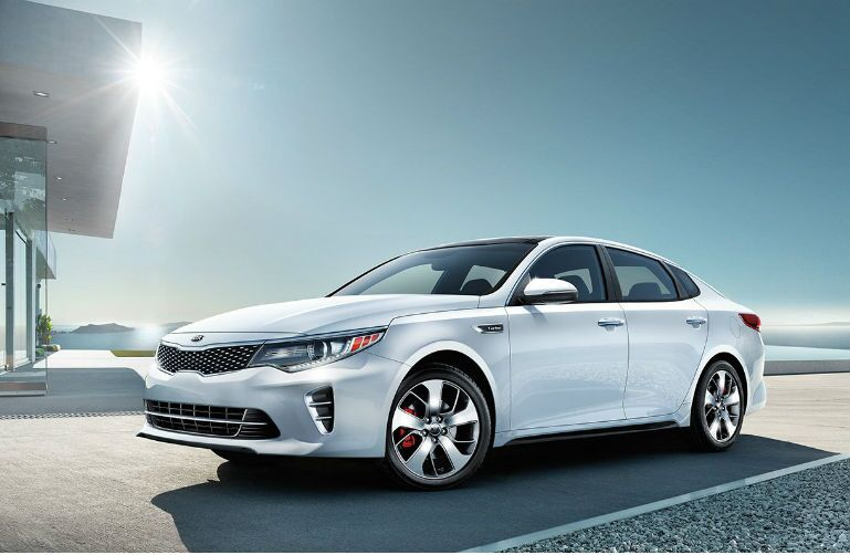 2016 Kia Optima European sport-styled design Wichita Falls TX