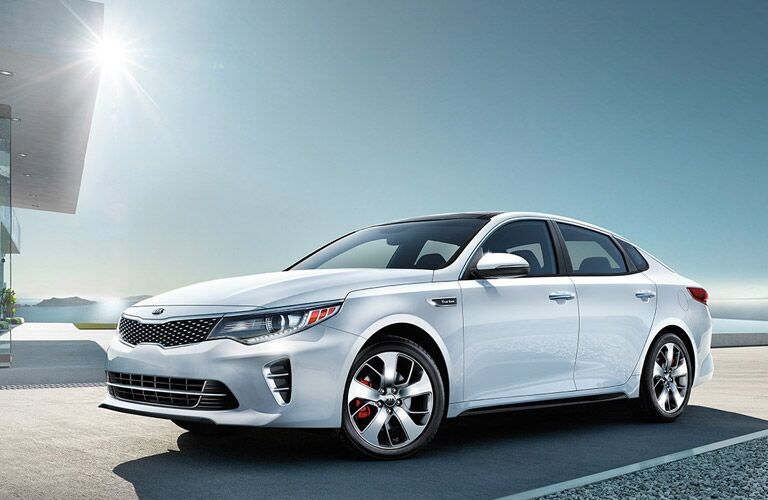 2016 Kia Optima Patterson Kia Wichita Falls TX award-winning midsize sedan
