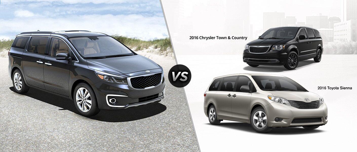 Toyota Wichita Falls Tx >> 2016 Kia Sedona vs. 2016 Chrysler Town & Country vs. 2016 ...