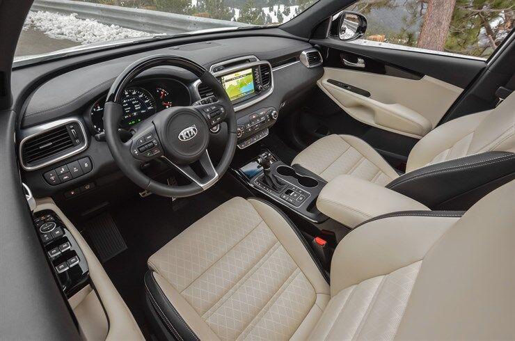 2017 Kia Sorento plush seats Texoma TX Patterson Kia