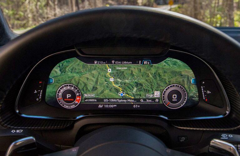 audio driver display screen navigation