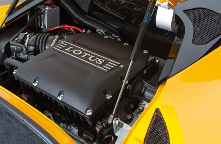 2018 lotus evora 400 engine detail