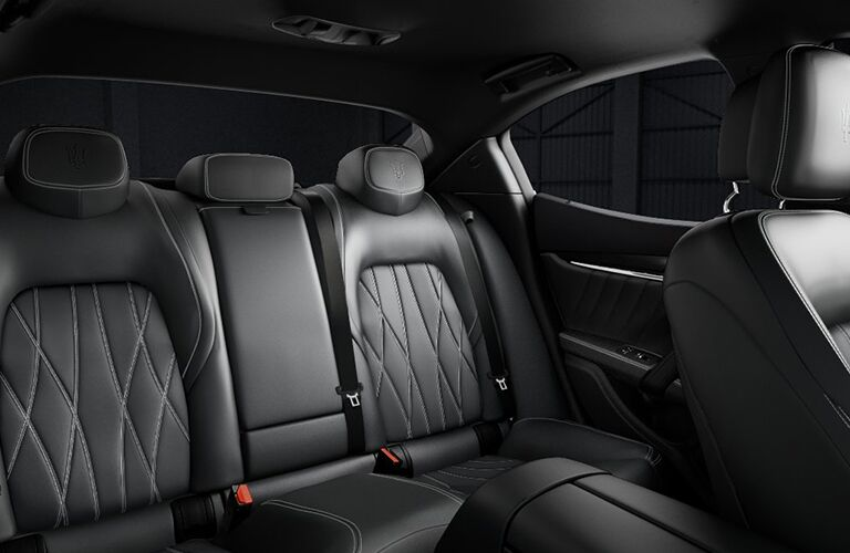 2019 Maserati Ghibli interior seat view