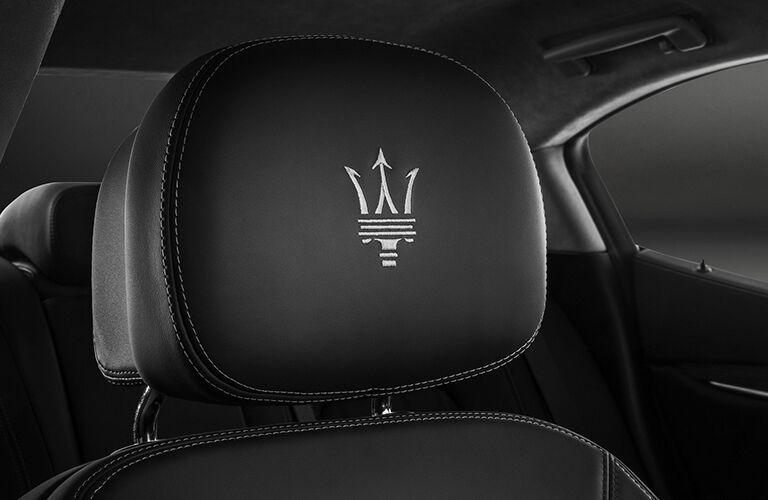 2019 Maserati Ghibli stitched seating