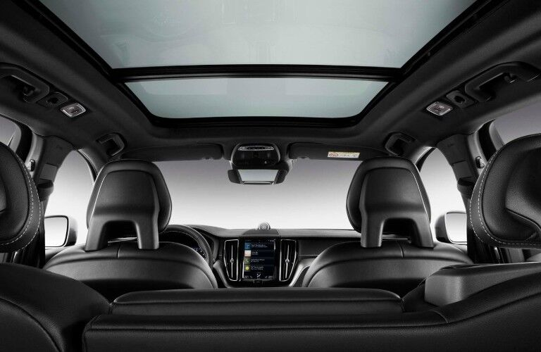 rear seating of 2020 Volvo XC60 Momentum