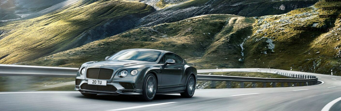 Bentley Supersports on the highway