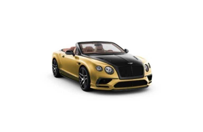 Bentley Continental with a convertible option