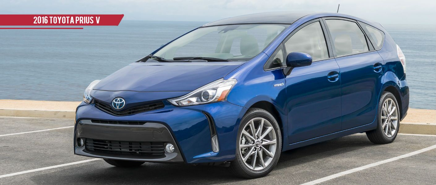 2016 Toyota Prius v Near Bangor ME at Downeast Toyota