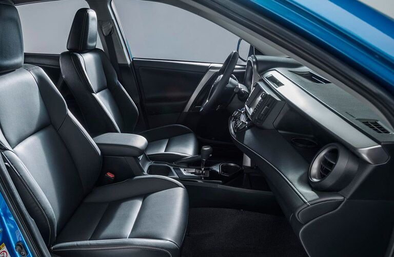 Luxurious Front Seats of 2016 Toyota RAV4 Hybrid Downeast Toyota