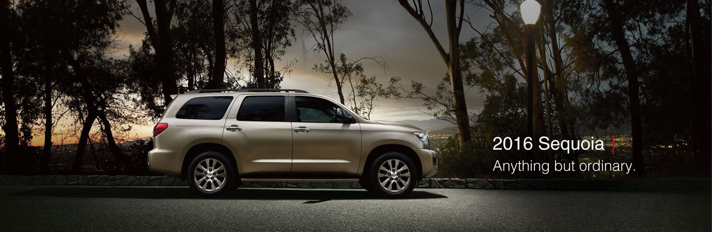 2016 Toyota Sequoia Near Bangor ME at Downeast Toyota
