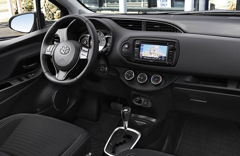 2017 Toyota Yaris Interior with Toyota Entune