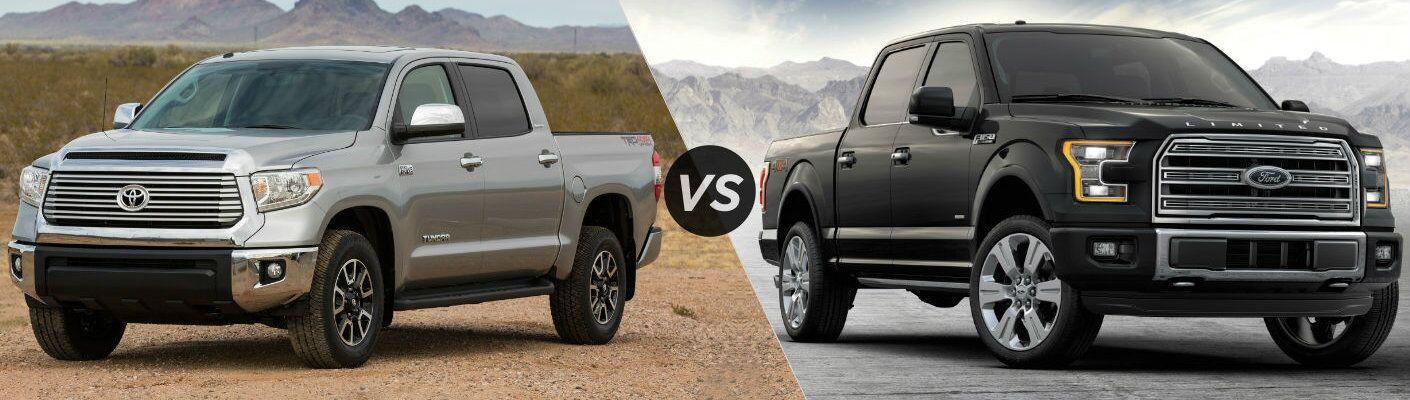 2016 Toyota Tundra vs 2016 Ford F-150