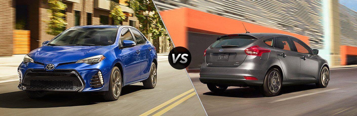 2017 Toyota Corolla vs 2017 Ford Focus