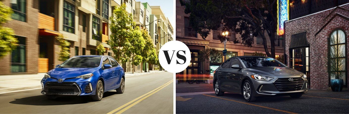 2017 Toyota Corolla vs 2017 Hyundai Elantra