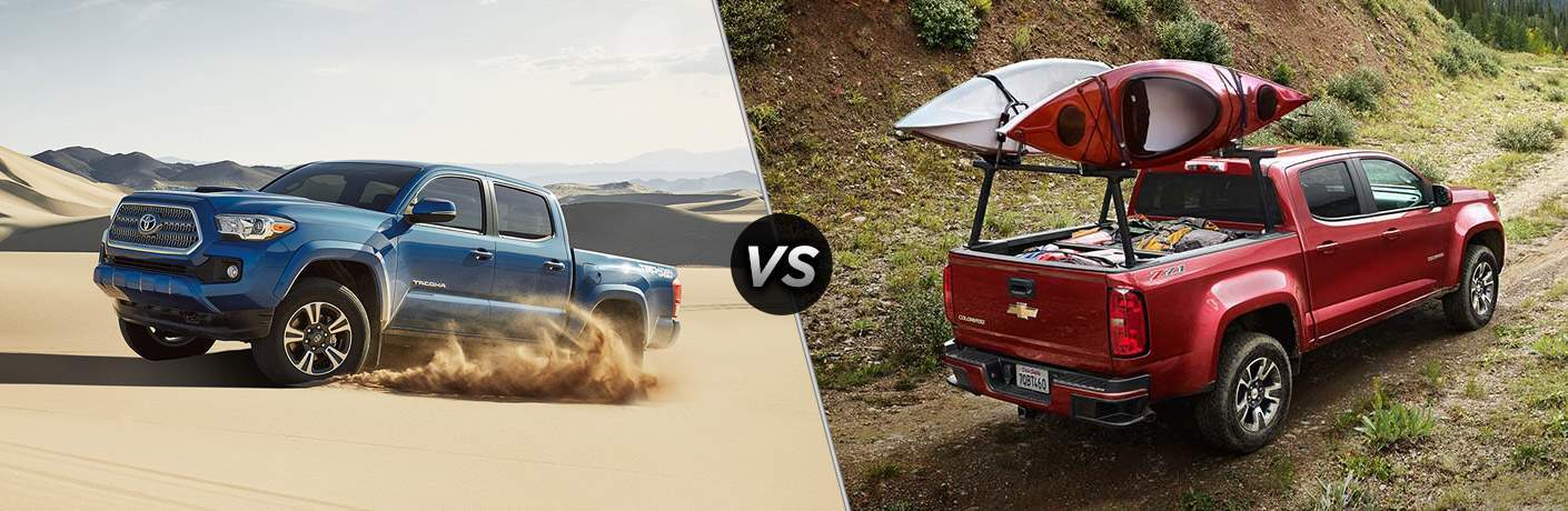 2017 Toyota Tacoma vs 2017 Chevy Colorado
