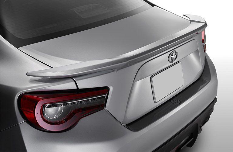 Silver 2017 Toyota 86 Rear Exterior