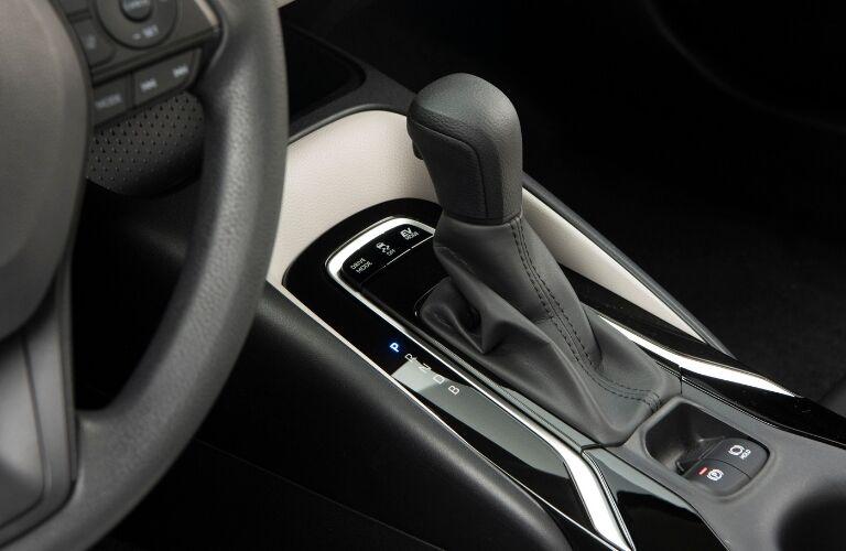 2020 Toyota Corolla Hybrid Center Console