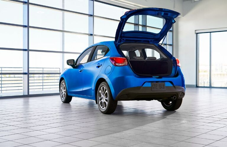 2020 Toyota Yaris Hatchback Rear Cargo Space