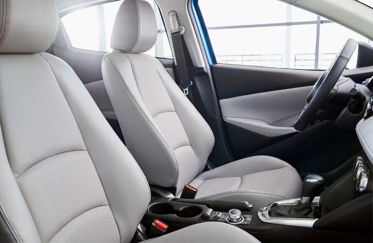 2020 Toyota Yaris Hatchback Front Seat Interior