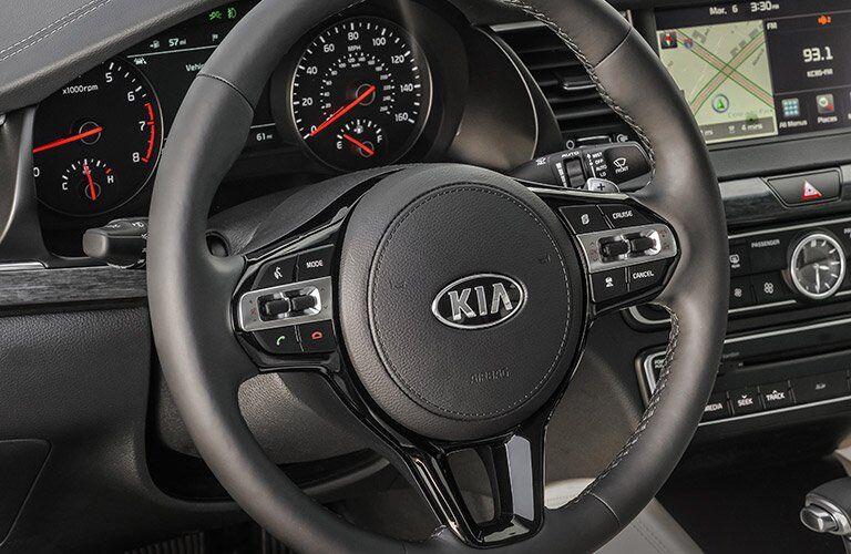 2017 Kia Cadenza steering wheel controls