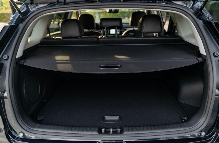 Cargo area in 2019 Kia Niro EV