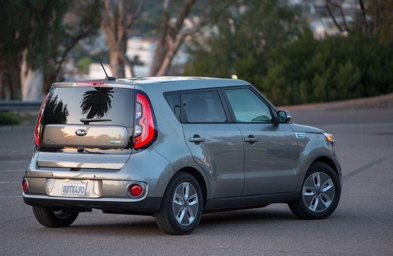 2019 Kia Soul exterior rear fascia passenger side