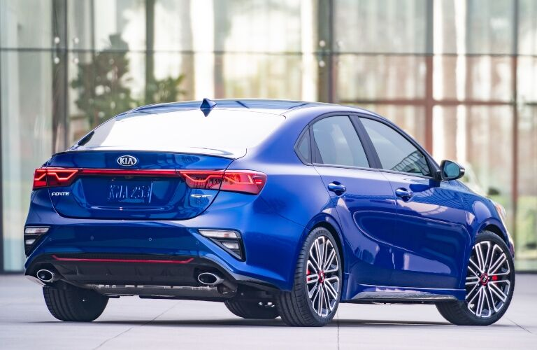 2020 Kia Forte back End