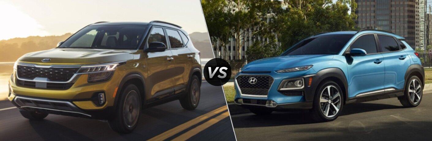 2021 Kia Seltos vs 2020 Hyundai Kona